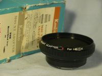 '   HASSELBLAD - CONTAX  -UNUSED- ' Contax Camera Hasselblad Lens Adaptor -BOXED-UNUSED- £39.99